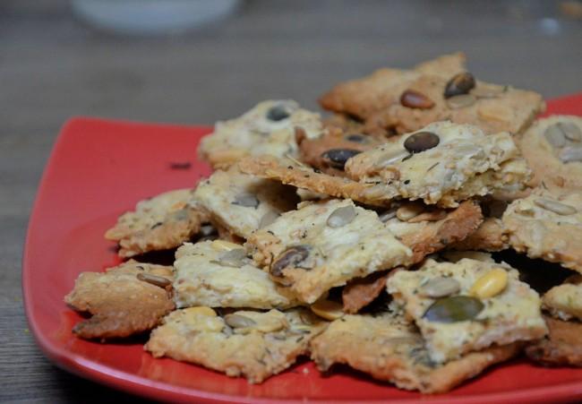 crackers graines vegan