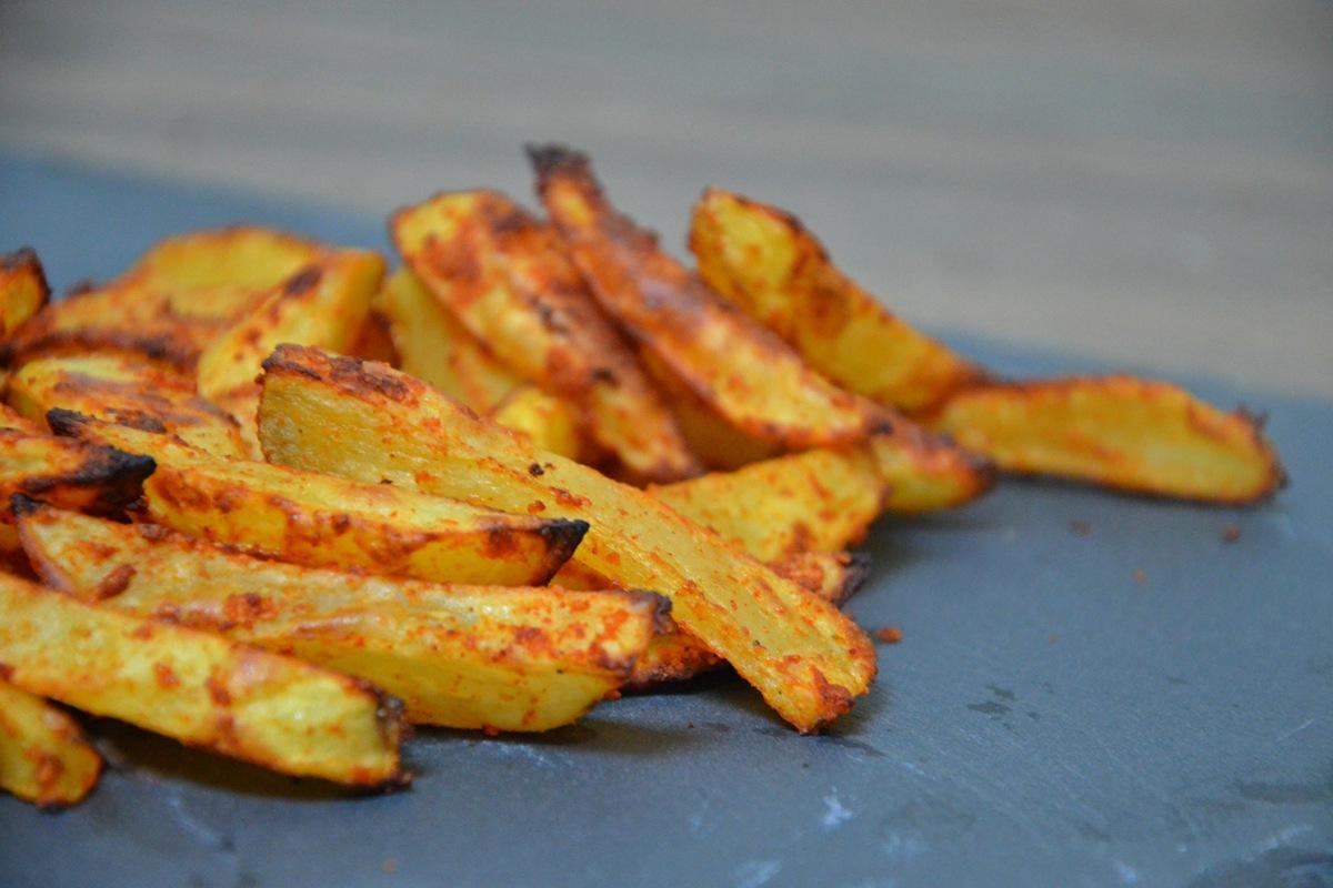 Frites l g res au four sans friteuse un citron dans la - Frites pour friteuse au four ...