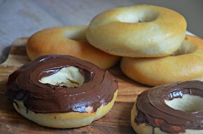 donuts végétaliens moelleux